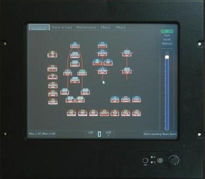 Panel de control CIC 398 TP