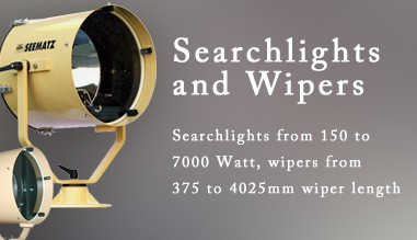 Search Lights and Wipers